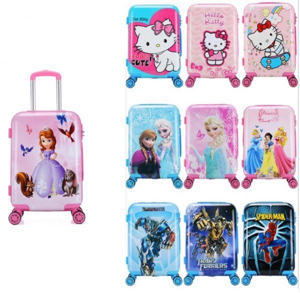 medium traveling suitcase 17 inch