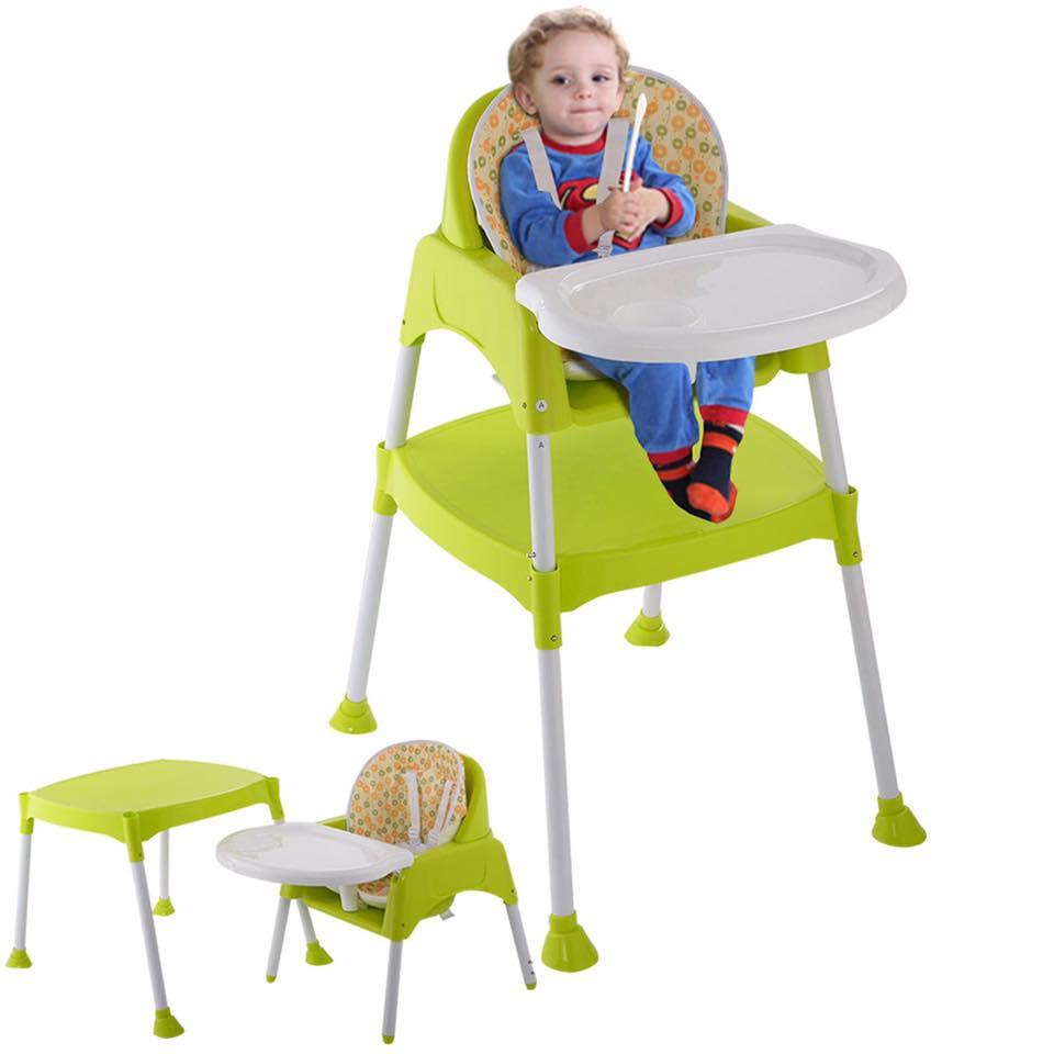 Convertible feeding chair