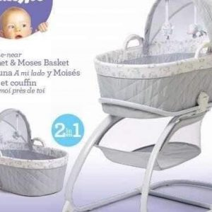 2 in 1 moses basket